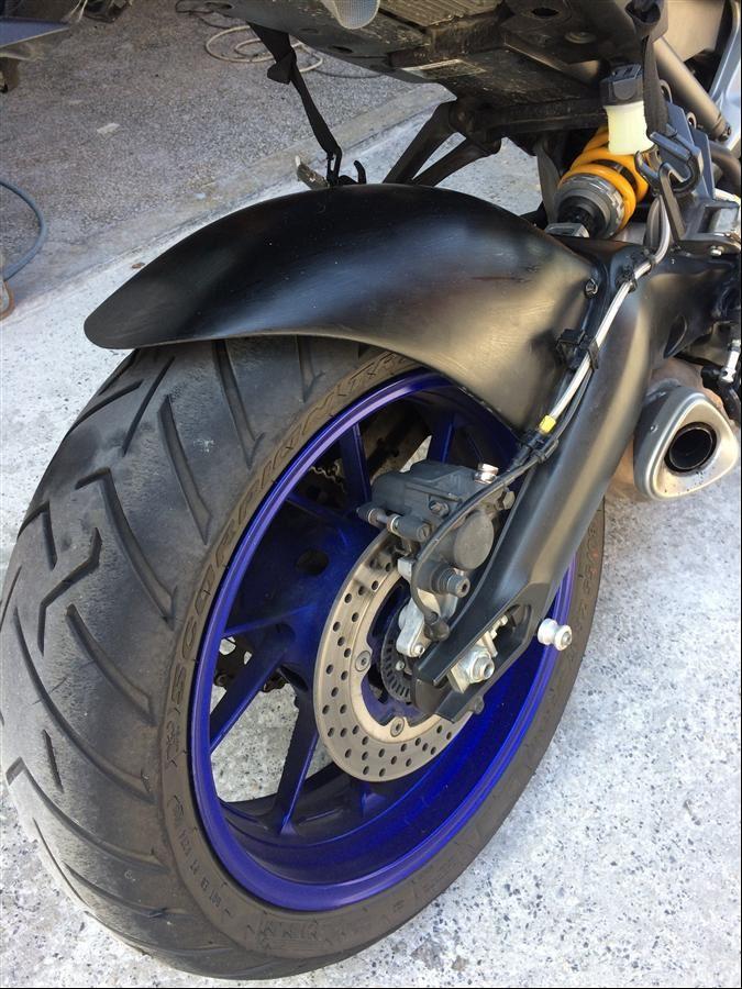 Yamaha MT-09'a Fiberden Kat Çıktık  10. İçerik Fotoğrafı