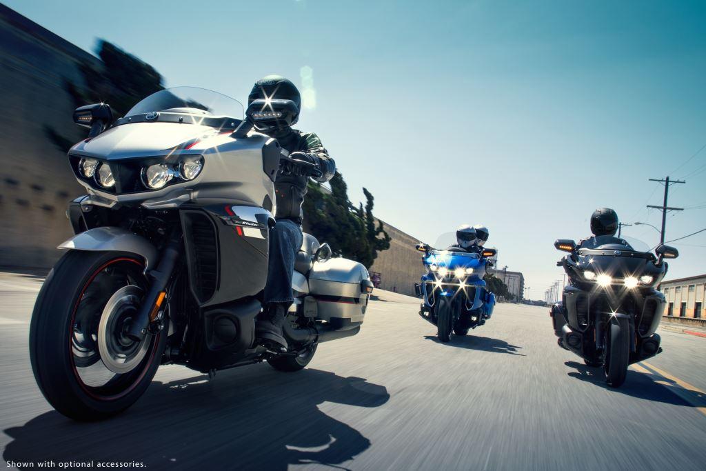 Yamaha'nın Yeni Bagger Modeli 2018 Star Eluder'a İlk Bakış! 4. İçerik Fotoğrafı