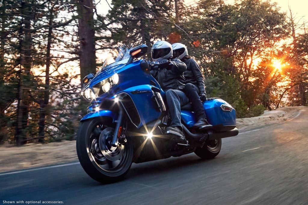 Yamaha'nın Yeni Bagger Modeli 2018 Star Eluder'a İlk Bakış! 6. İçerik Fotoğrafı
