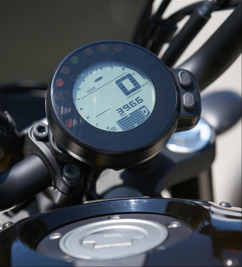 Yamaha'nın Yeni Retro Motorları: XSR700 ve XSR900 5. İçerik Fotoğrafı
