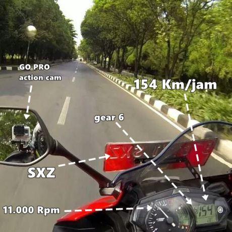 Yamaha R25 Son Hız ve Son Videolar ! 2. İçerik Fotoğrafı