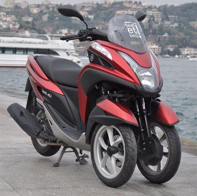 Yamaha Tricity 125 - Üç Tekerlekli Scooter Testi 1. İçerik Fotoğrafı