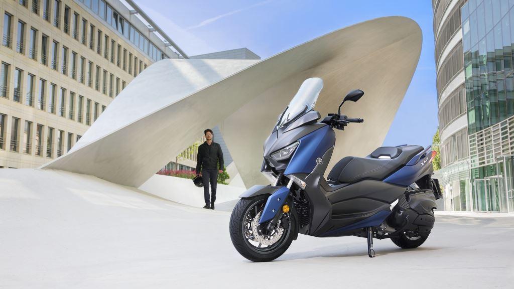 Yamaha X-MAX 400'ün Yeni Yüzü! 5. İçerik Fotoğrafı