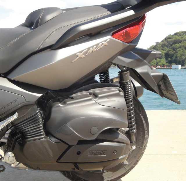 Yamaha Xmax 400 3. İçerik Fotoğrafı