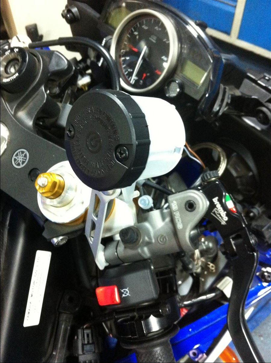 Yamaha YZF-R6'ya Brembo RCS 19 5. İçerik Fotoğrafı