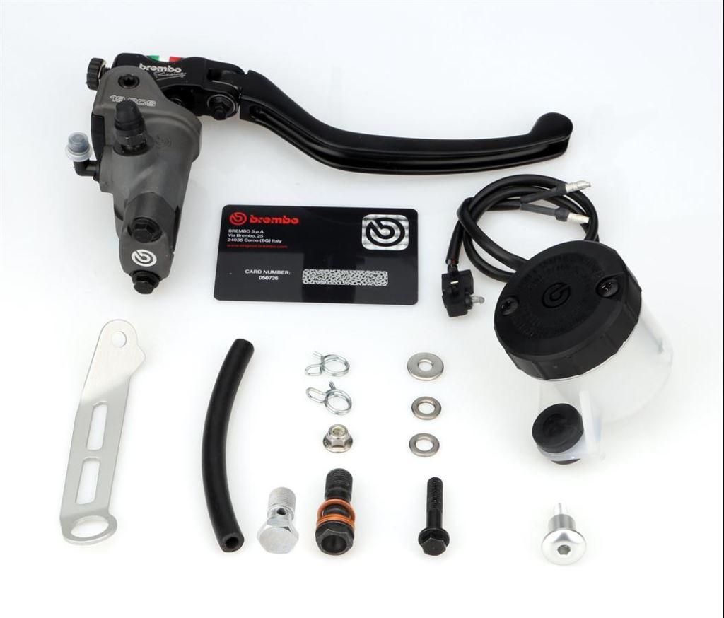 Yamaha YZF-R6'ya Brembo RCS 19 6. İçerik Fotoğrafı