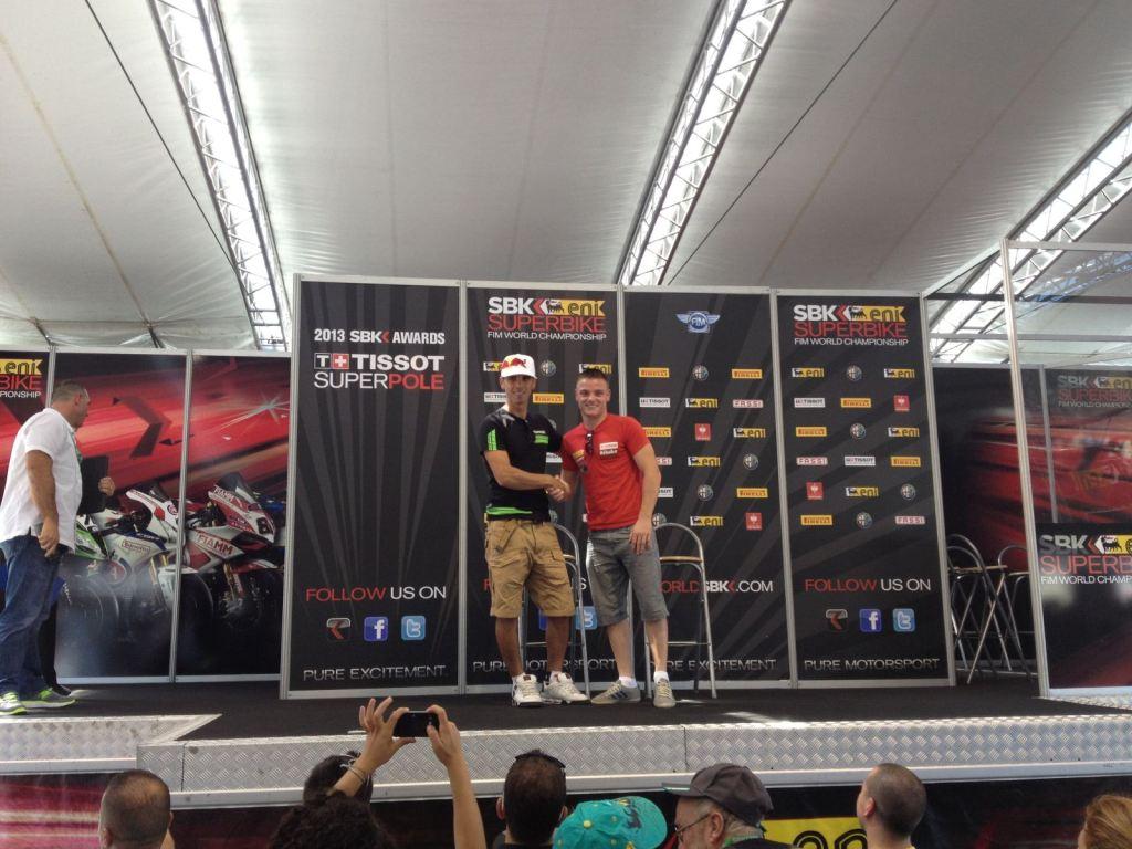 Yarış öncesi Sam Lowes ile Röportaj 1. İçerik Fotoğrafı