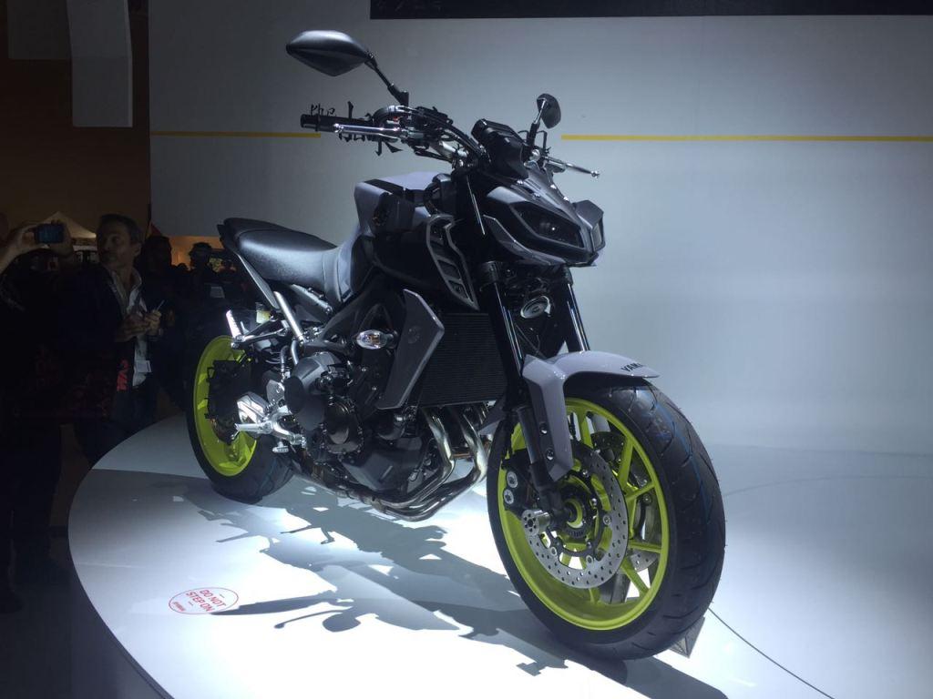 Yeni 2017 Yamaha MT-09 - Intermot 2016 3. İçerik Fotoğrafı