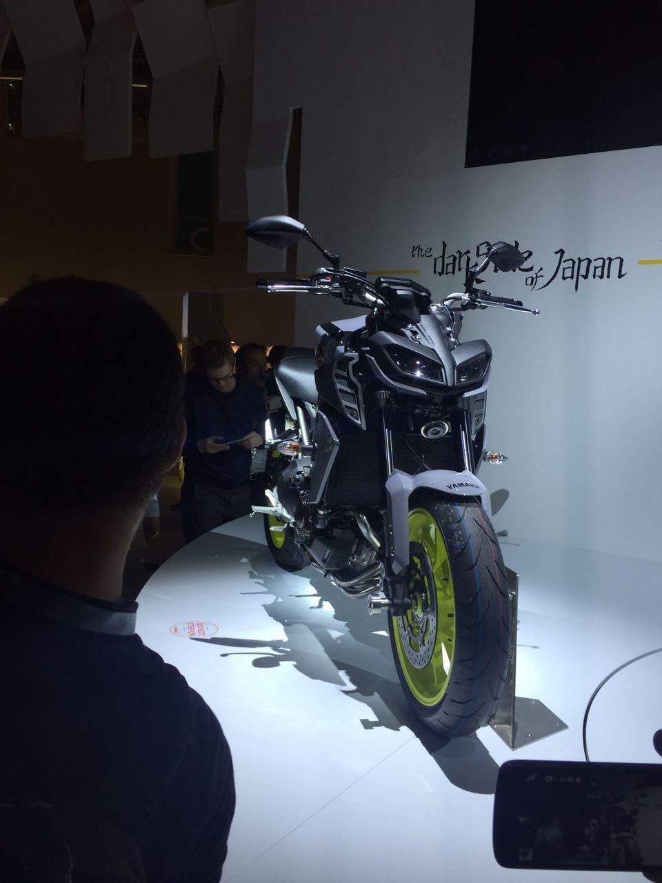 Yeni 2017 Yamaha MT-09 - Intermot 2016 5. İçerik Fotoğrafı