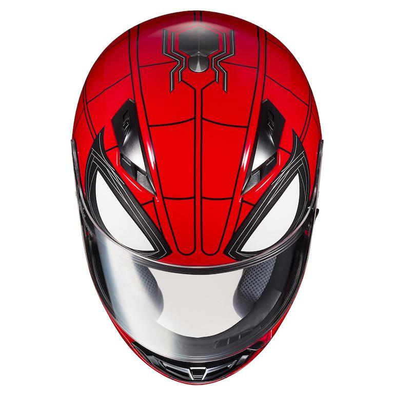 Yeni Versiyonu ile HJC Spider-Man ve Iron-Man Konseptli Kask! 10. İçerik Fotoğrafı
