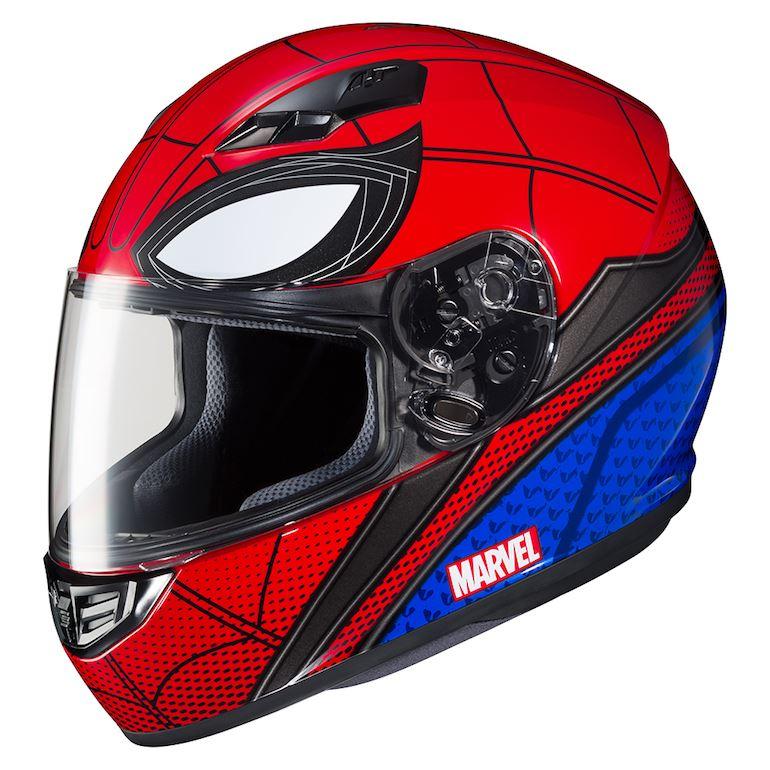 Yeni Versiyonu ile HJC Spider-Man ve Iron-Man Konseptli Kask! 8. İçerik Fotoğrafı